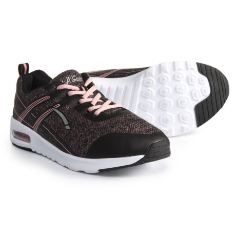 LA GEAR Dazzle Sneakers (For Girls) in Black/Pink
