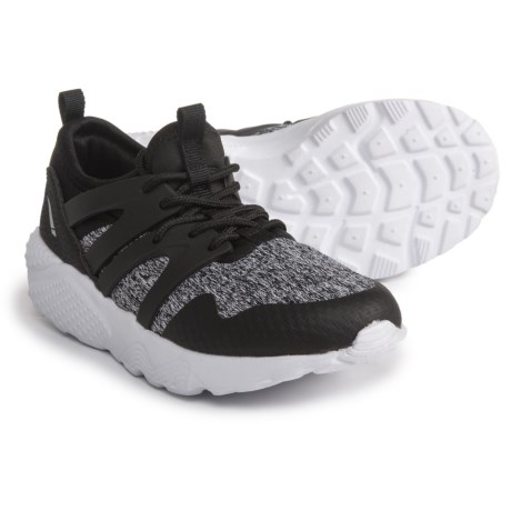 LA GEAR Nita Sneakers (For Girls) in Black/Grey