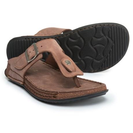 La Plume Cactus Comfort Sandals - Leather (For Women)