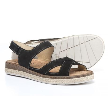 La Plume Oak Comfort Sandals - Nubuck (For Women)
