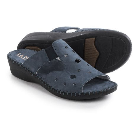 La Plume Pisa Sandals Nubuck (For Women)