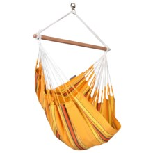 La Siesta Colombian Currambera Hammock Chair in Apricot - Closeouts