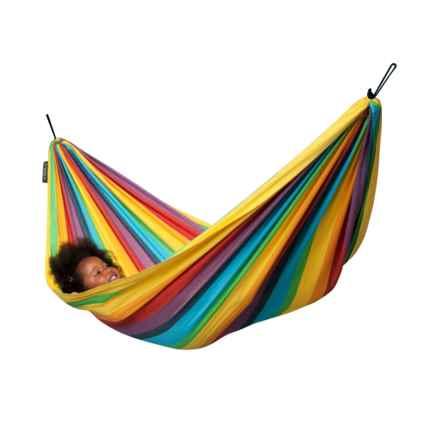 La Siesta Iri Rainbow Hammock (For Kids) in Multi - Closeouts