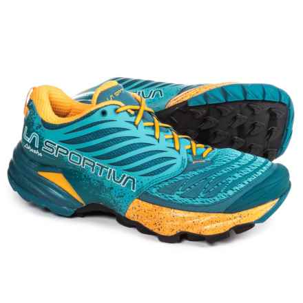 La Sportiva Akasha Trail Running Shoes (For Women) in Fjord - Closeouts