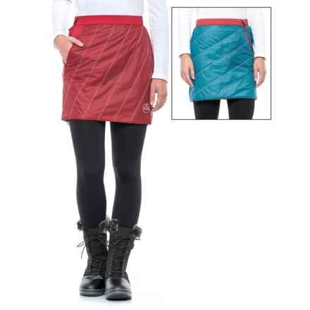 La Sportiva Athena 2.0 PrimaLoft® Skirt (For Women) in Blue Moon/Berry - Closeouts