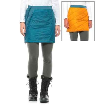 La Sportiva Athena 2.0 PrimaLoft® Skirt (For Women) in Papaya/Fjord - Closeouts