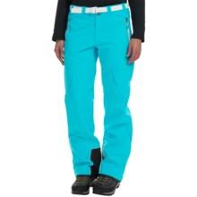 La Sportiva Aura Soft Shell Pants (For Women) in Malibu Blue - Closeouts