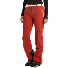 La Sportiva Aura Soft Shell Pants (For Women) in Red - Closeouts
