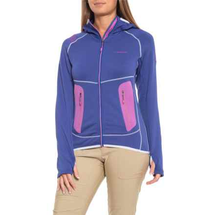 La Sportiva Avail 2.0 Hoodie - Full Zip (For Women) in Iris Blue - Closeouts