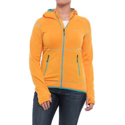 La Sportiva Avail 2.0 Hoodie - Full Zip (For Women) in Papaya - Closeouts