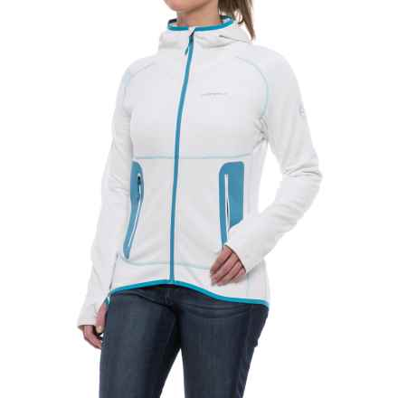 La Sportiva Avail 2.0 Hoodie - Full Zip (For Women) in White - Closeouts