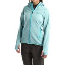 La Sportiva Avail Hoodie - Full Zip (For Women) in Ice Blue - Closeouts