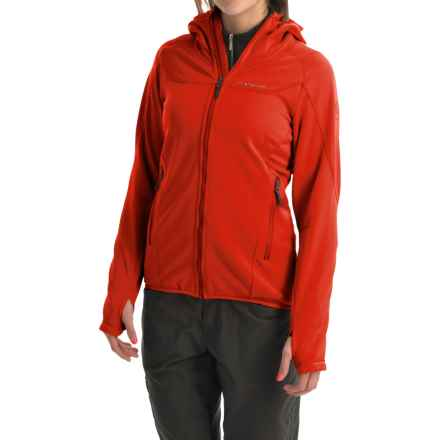 La Sportiva Avail Hoodie Jacket - Full Zip (For Women) in Red - Closeouts