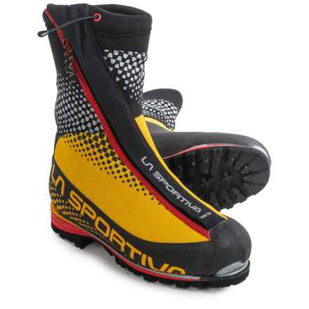 La Sportiva Batura 2.0 Gore-Tex® Mountaineering Boots - Waterproof, Insulated (For Men) in Black/Yellow - Closeouts