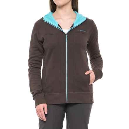 La Sportiva Bimbaluna Fleece Hoodie - Full Zip (For Women) in Brown - Closeouts