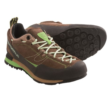 La Sportiva Boulder X Approach Shoes (For Women) in Brown