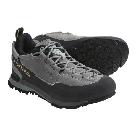 La Sportiva Boulder X Approach Shoes (For Women) in Grey/Sage
