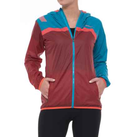 La Sportiva Breeze Jacket (For Women) in Blue Moon Berry - Closeouts
