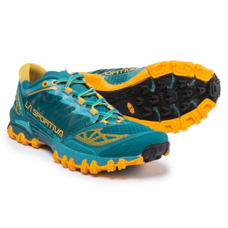 La Sportiva Bushido Trail Running Shoes (For Women) in Fjord
