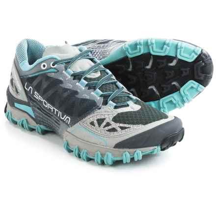 La Sportiva Bushido Trail Running Shoes (For Women) in Ice Blue/Grey - Closeouts