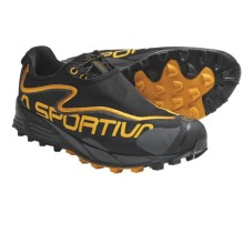 La Sportiva C-Lite 2.0 Trail Running Shoes (For Men) in Black/Yellow - Closeouts