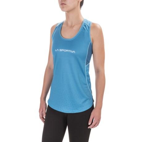 La Sportiva Calypso Tank Top - Racerback (For Women) in Blue Moon