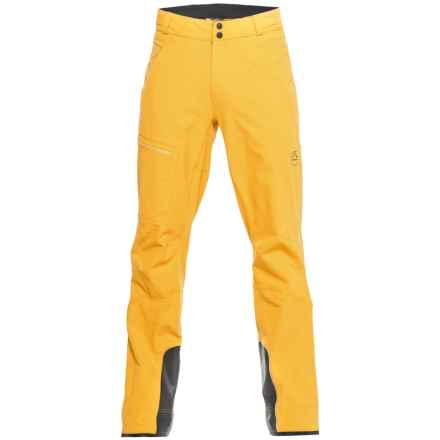 La Sportiva Castle Ski Pants (For Men) in Mustard - Closeouts