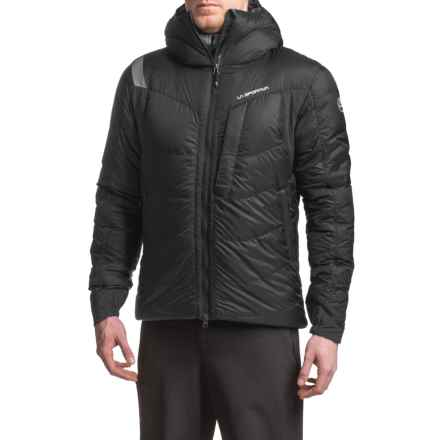 La Sportiva Cham 2.0 Down Jacket - 700 Fill Power (For Men) in Black/Grey - Closeouts