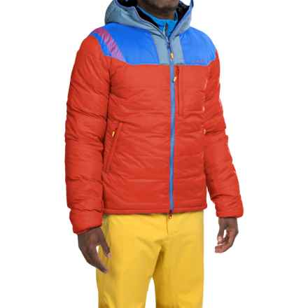 La Sportiva Cham Down Jacket - 700 Fill Power (For Men) in Red/Blue - Closeouts