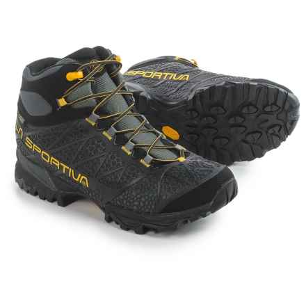 La Sportiva Core High Gore-Tex® Hiking Boots - Waterproof (For Men) in Black/Yellow - Closeouts