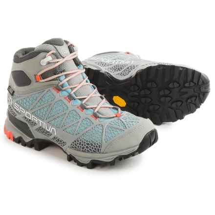La Sportiva Core High Gore-Tex® Hiking Boots - Waterproof (For Women) in Ice Blue - Closeouts