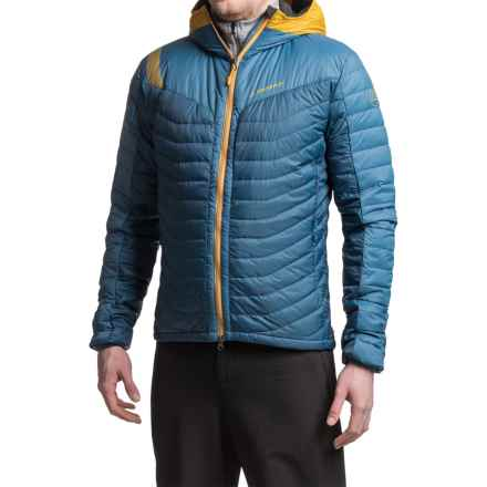 La Sportiva Cosmos Down Jacket - 700 Fill Power, Hooded (For Men) in Dark Sea - Closeouts