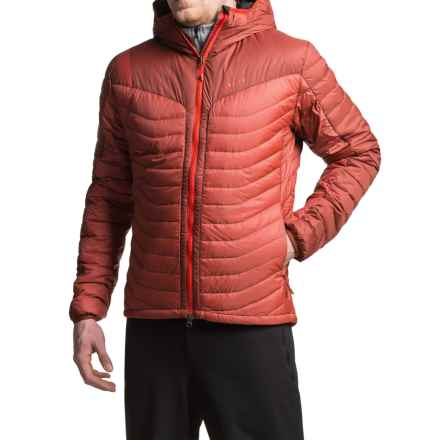 La Sportiva Cosmos Down Jacket - 700 Fill Power, Hooded (For Men) in Rust - Closeouts