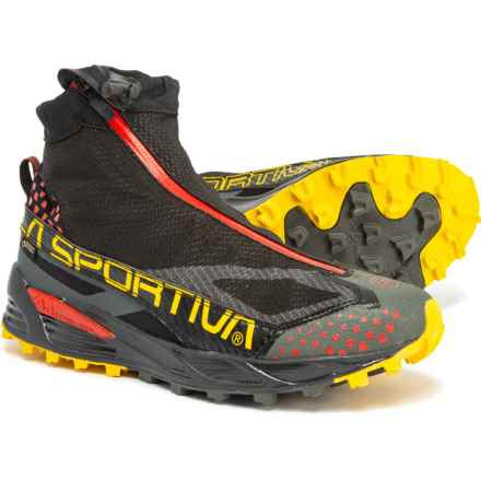 La Sportiva Crossover 2.0 Gore-Tex® Trail Running Shoes - Waterproof (For Men) in Black/Yellow - Closeouts