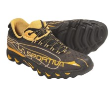 La Sportiva Electron Trail Running Shoes (For Men) in Black/Yellow - Closeouts