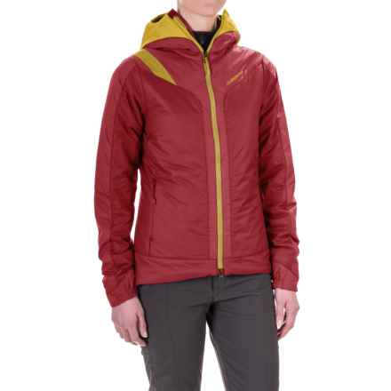 La Sportiva Estela 2.0 Primaloft® Hooded Jacket - Insulated (For Women) in Berry - Closeouts