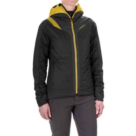 La Sportiva Estela 2.0 Primaloft® Hooded Jacket - Insulated (For Women) in Black - Closeouts