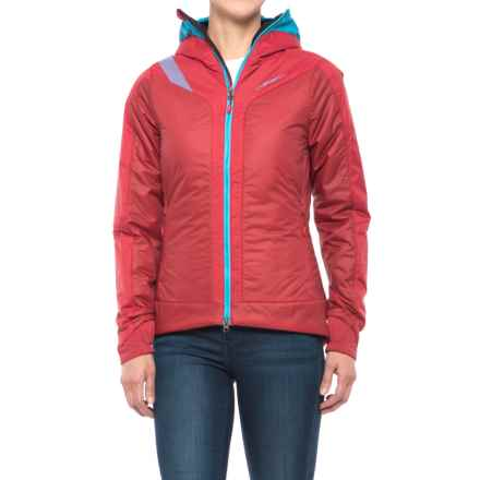 La Sportiva Estela 2.0 Primaloft® Hooded Jacket - Insulated (For Women) in Blue Moon/Berry - Closeouts