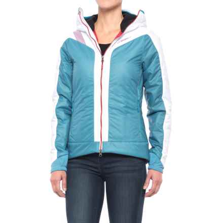 La Sportiva Estela 2.0 Primaloft® Hooded Jacket - Insulated (For Women) in Blue/White - Closeouts