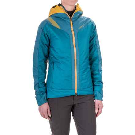 La Sportiva Estela 2.0 Primaloft® Hooded Jacket - Insulated (For Women) in Fjord - Closeouts
