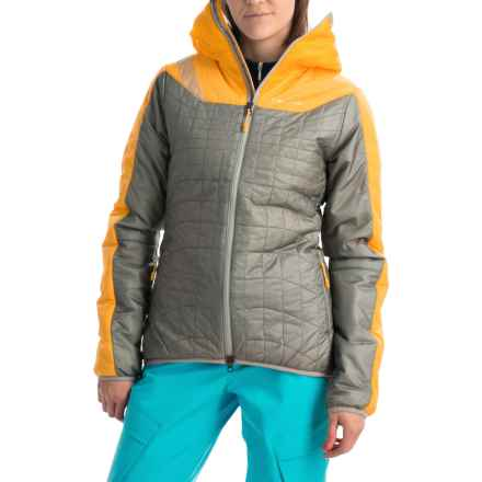 La Sportiva Estela PrimaLoft® Jacket - Insulated (For Women) in Yellow/Mid Grey - Closeouts