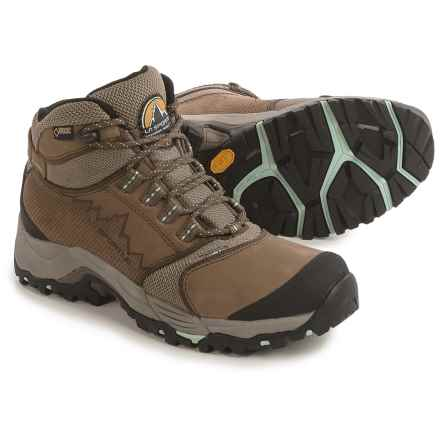 La Sportiva FC 3.2 Gore-Tex® Hiking Boots - Waterproof, Leather (For Women) in Brown/Blue - Closeouts