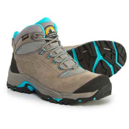 La Sportiva FC 4.0 Gore-Tex® Hiking Boots - Waterproof (For Women) in Grey/Ice Blue - Closeouts