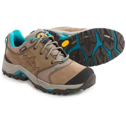 La Sportiva FC ECO 2.0 GTX Trail Shoes - Gore-Tex®, Nubuck (For Women) in Brown/Sea Blue - Closeouts