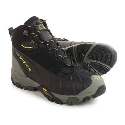 La Sportiva Frost Gore-Tex® Hiking Boots - Waterproof, Insulated (For Men) in Black/Yellow - Closeouts