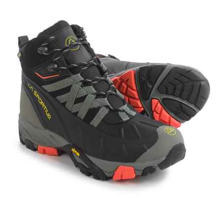 La Sportiva Frost Gore-Tex® Hiking Boots - Waterproof, Insulated (For Women) in Black/Coral - Closeouts