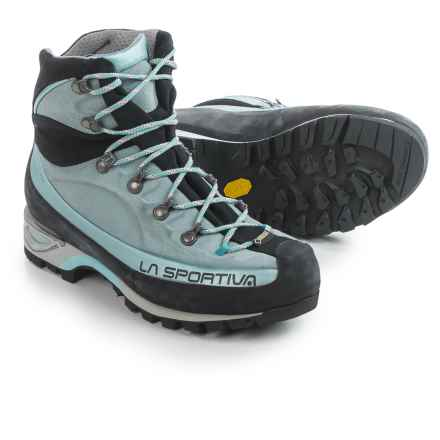 La Sportiva Gore-Tex® Trango Alp Evo Mountaineering Boots - Waterproof, Leather (For Women) in Ice Blue - Closeouts
