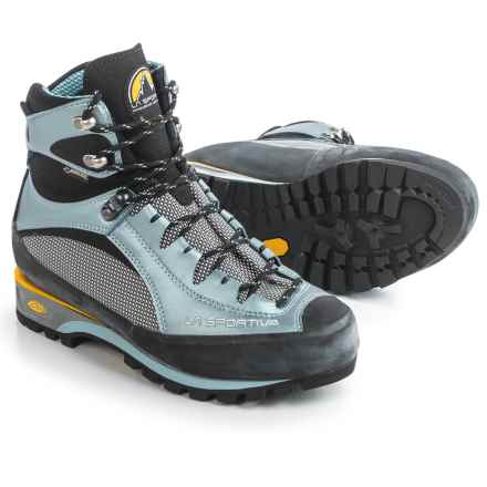 La Sportiva Gore-Tex® Trango S Evo Mountaineering Boots - Waterproof (For Women) in Celeste - Closeouts