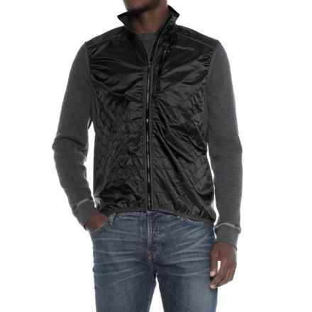 La Sportiva Hustle Vest- Insulated (For Men) in Black/Grey - Closeouts