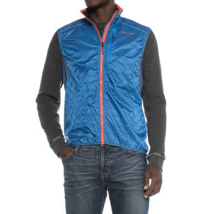 La Sportiva Hustle Vest- Insulated (For Men) in Blue - Closeouts